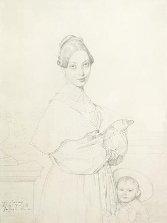 Madame Baltard and Her Daughter, Paule, 1836