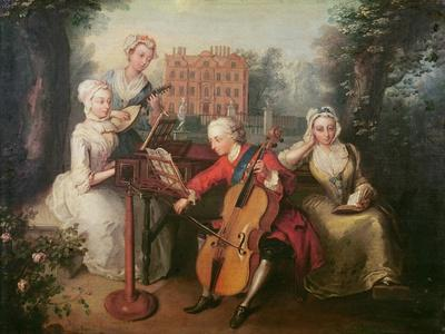Frederick, Prince of Wales and His Sisters, 1733