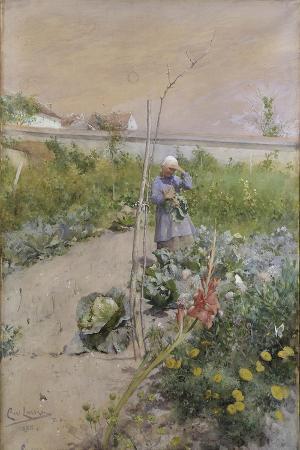 In the Kitchen Garden, 1883