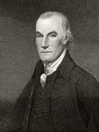 William Floyd, Engraved by Asher Brown Durand (1796-1886)