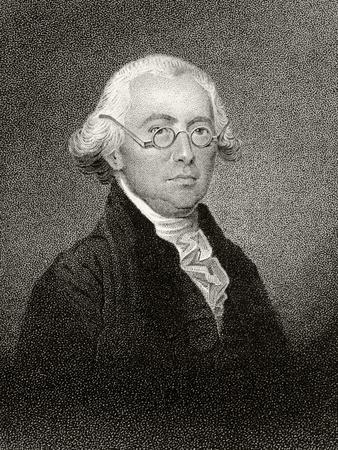 James Wilson, Engraved by James Barton Longacre (1794-1869)