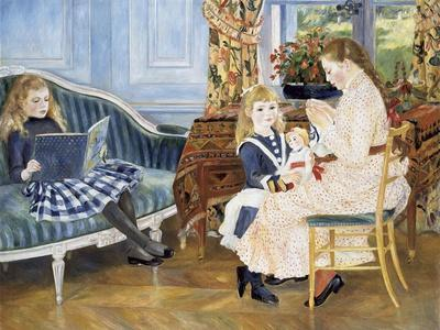 Children's Afternoon at Wargemont, 1884