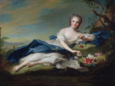 Portrait of Henriette De France, C.1742
