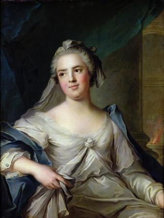 Madame Henriette as a Vestal Virgin, 1751