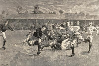 England V. Scotland Rugby Match, Richmond, 1891