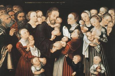 Jesus and the Children, Early C16th