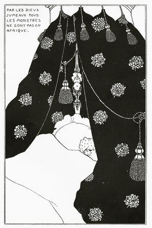 Portrait of Himself in Bed, from 'The Yellow Book' Vol. III, October 1894