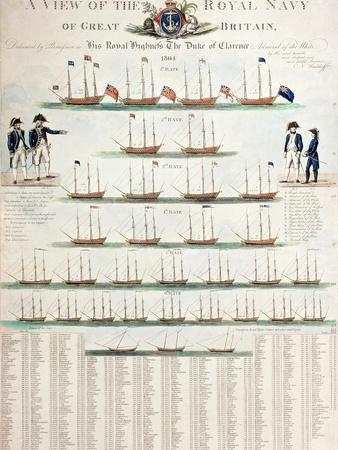 A View of the Royal Navy of Great Britain, Published in 1804