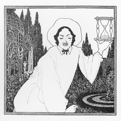 Cover Design to 'The Pierrot of the Minute', 1897