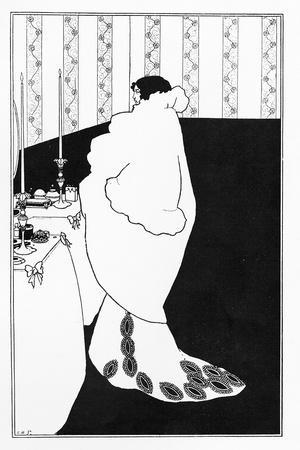 La Dame Aux Camelias, Illustration from 'The Yellow Book', 1894