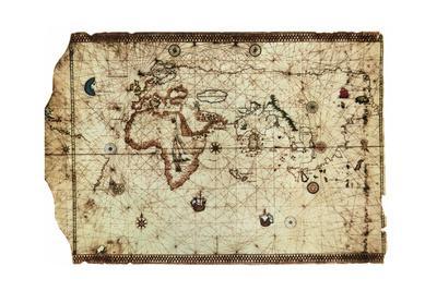King Hamy' Navigational Chart, 1502
