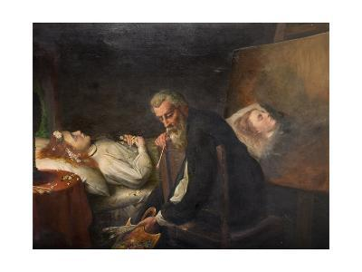 Tintoretto Painting His Dead Daughter, 1873