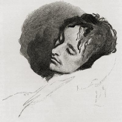 John Keats in His Last Illness, from 'The Century Illustrated Monthly Magazine', May to October,…
