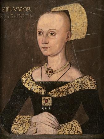 Portrait of Elizabeth Woodville