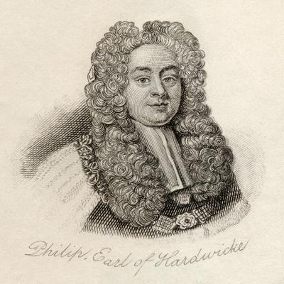 Philip Yorke, from 'Crabb's Historical Dictionary', Published 1825