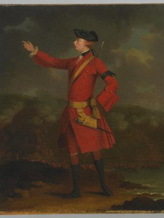 Portrait of General Wolfe (1727-59)