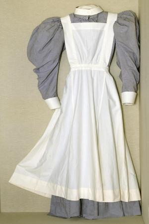 Part of a Nursing Uniform Belonging to Helen Riddick While at the Nightingale Training School at…