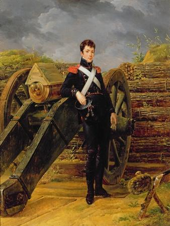 Portrait of an Officer in the Garde Nationale