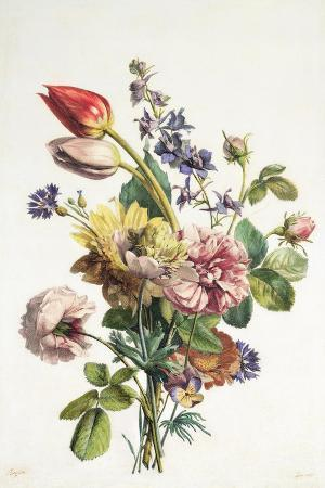 Study of a Bunch of Flowers, 1817