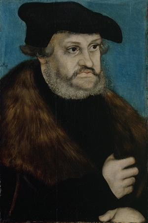 Portrait of Frederick the Wise, Elector of Saxony, C. 1525-1527