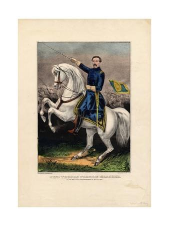 Genl. Thomas Francis Meagher, Pub. by Currier and Ives, C.1862