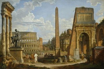 A Capriccio View of Roman Ruins, 1737