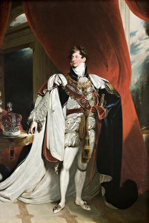 Portrait of King George IV, 1820-30