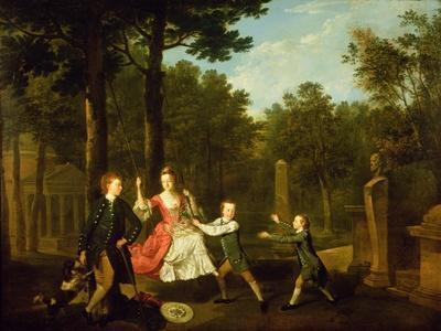 The Children of the 4th Duke of Devonshire