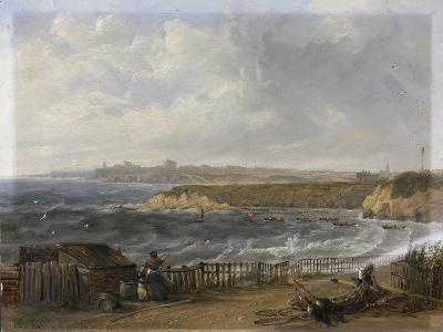 Cullercoats Looking Towards Tynemouth - Flood Tide, 1845