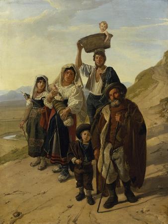 Italian Peasants at Albano