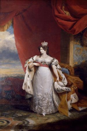 Portrait of Tsarina Alexandra Feodorovna of Russia, 1828-31