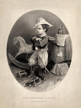 Commander in Chief, Pub. by Currier and Ives, 1863