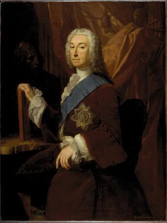 Portrait of Richard Boyle, 3rd Earl of Burlington, 1743