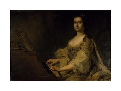 Portrait of Lady Charlotte Boyle, C.1748