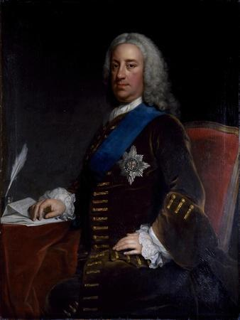 Portrait of William Cavendish, 3rd Duke of Devonshire, Late 1730s-Early 1740s