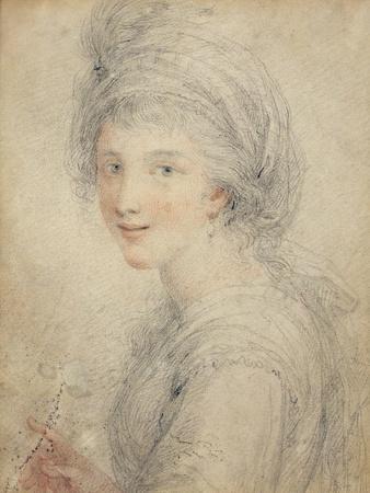 Portrait of Angelica Kauffman