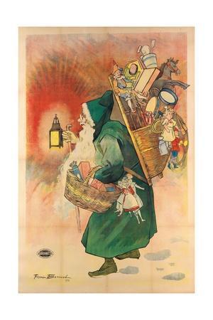 Father Christmas, 1893