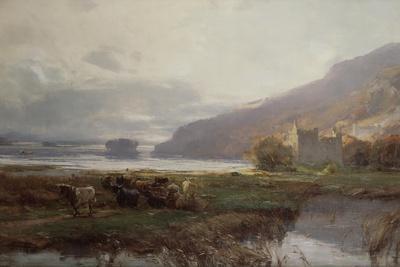 Kilchurn Castle, Lock Awe, 1879