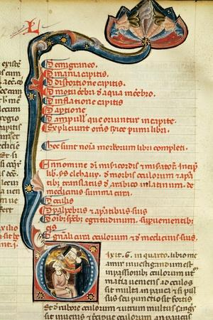 Ms.Lat.6912 Illuminations from Volume 2 of the 'Continens' of Rhazes Concerning Opthalmology and…