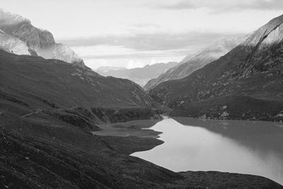 Unknown High Altitude Lake Above Pahalgam