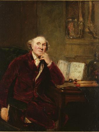Portrait of John Hunter