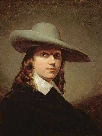 Self-Portrait in a Broad-Brimmed Hat, 1848