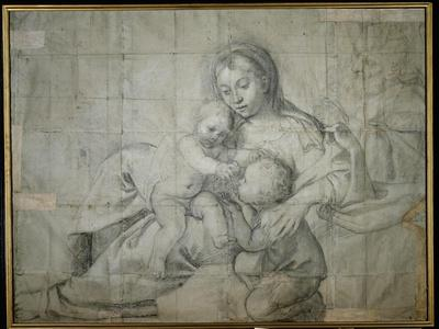 Holy Family at Rest with the Infant St. John the Baptist