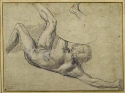 Study for Warrior Fallen in the 'Battle of Constantine', Sala Di Costantino