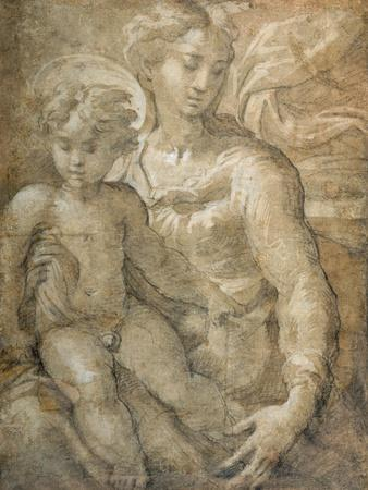 Virgin with the Child on Her Lap