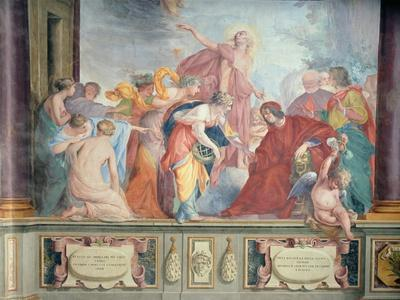 Lorenzo De Medici and Apollo Welcome the Muses and Virtues to Florence