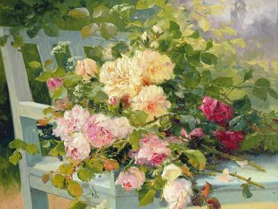 Roses on the Bench