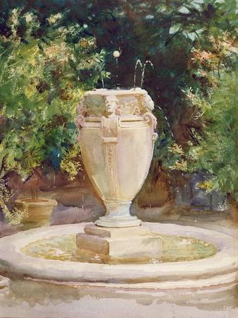 Vase Fountain, Pocantico