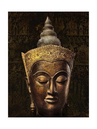 Ayutthaya Style Head of a Crowned Buddha Image