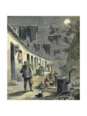 The Ragpickers of Paris, Illustration from the Illustrated Supplement of Le Petit Journal, 27th…